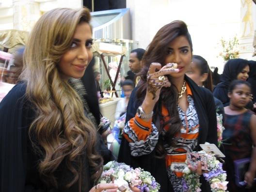 Eman and Elham Al Flamrzi visit Taste of Wafi
