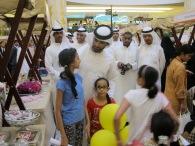 Sheikh Mansour visits Taste of Wafi