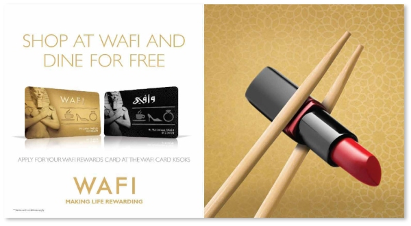 shop at wafi dine for free