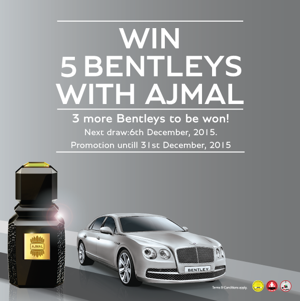Win Bentley with Ajmal